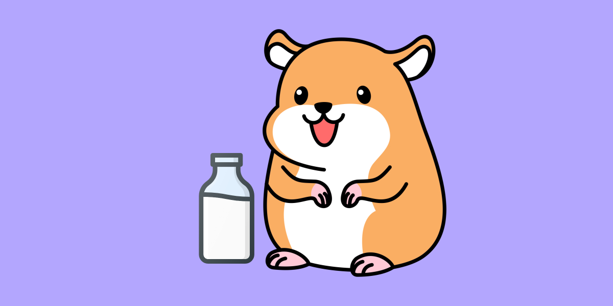 Can Hamsters Have Milk